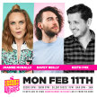Cherry Comedy at Whelan's with Joanne McNally & More! image