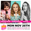 Cherry Comedy at Whelan's with Lynn Ruth Miller & More! image