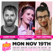 Cherry Comedy at Whelan's with Danny Ryan & More! image