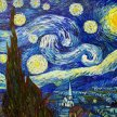 Vino & Van Gogh - Starry Night image