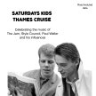 Paul Weller Thames cruise;  celebrating The Jam, Style Council, his solo work and influences image
