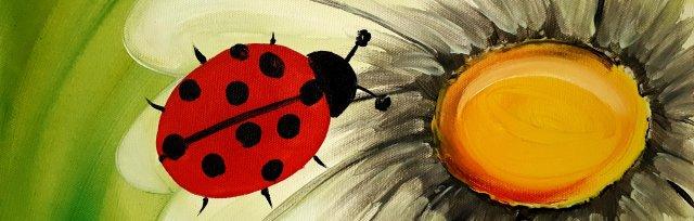 Family Painting Event - Ladybug
