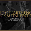CULT OF PARTHENOPE BLACK METAL FEST 2019 image