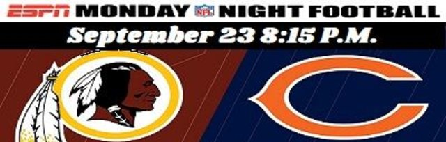 Bears vs Redskins $35.00 Shuttle Bus