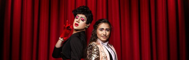 The Dragprov Revue's Velvet Curtain Club