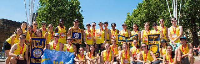 Team UC in the Vitality 10,000