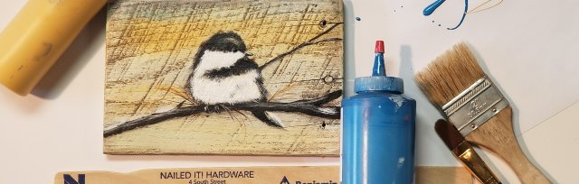 Birds Of A Feather #1- Painting Instruction