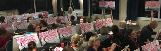 Brush Party fundraiser for Thame Town Cricket Club