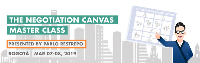The Negotiation Canvas Master Class: Bogotá