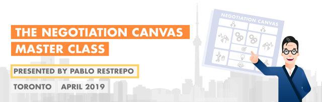 The Negotiation Canvas Master Class: Toronto