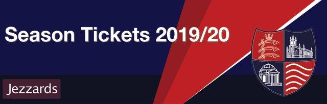 Season Tickets 2019/20 - Hampton & Richmond Borough FC
