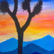 Paint & Sip!  Joshua Tree at 7:00pm UPLAND $29 image