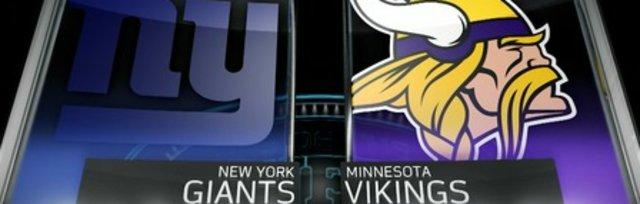 $45 Shuttle Bus VIKINGS vs GIANTS