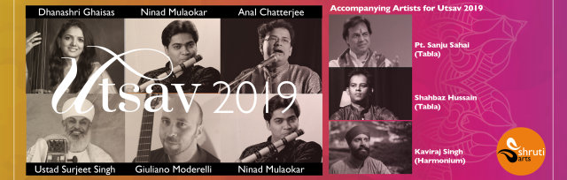 UTSAV 2019 - Celebrating Indian Classical Music