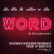 WORD - An Evening of Spoken Word Performances image