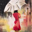 Paint & Sip!Umbrella Girl at 7pm $39 image