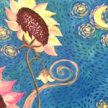 Paint & sip! Starry Sunflower at  3pm $35 image