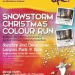 Snowstorm Christmas Colour Run - Lurgan Park image