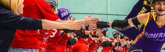 British Champs Tier 4 South Game Day 1, Eastbourne Roller Derby vs Plymouth, Bridgend vs Milton Keynes Roller Derby