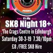 Its My SK8 Night- Adult Roller Disco, The Crags Centre, Edinburgh image