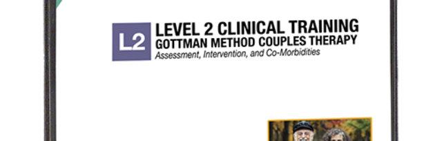 Gottman Method Couple Therapy - Level 2 Training - Denver Area