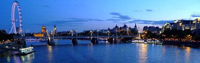 Our 2 Tone Thames cruise