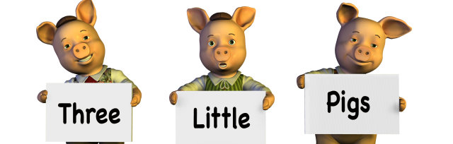 The Three Little Pigs and Goldilocks & the Three Bears, Worden Park, Leyland, 12pm