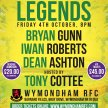 An Evening with Bryan Gunn, Iwan Roberts and Dean Ashton hosted by Tony Cottee image