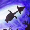 Paint & Sip! Sea Turtles at 3pm $29 Upland image
