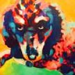"Family Paint ""Pop Art Dog"" at 11am $22 image"