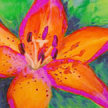 Paint & sip!Tropical Flower at 3pm $29 image