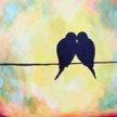 Paint & Sip! Love Birds 7pm $35 image