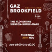 Gaz Brookfield - The Lostfolk Tour with B-Sydes image