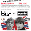 Oasis Blur Britpop Battle of the Bands image
