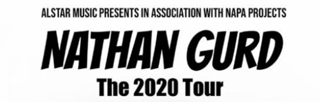 Nathan Gurd - The 2020 Tour - MANCHESTER