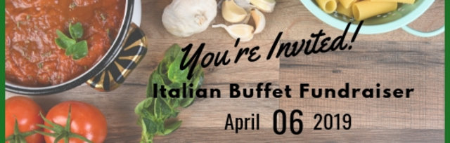 Italian Buffet Fundraiser