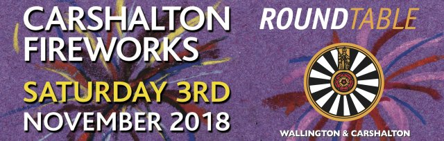Round Table Carshalton Fireworks 2018