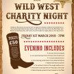 Wild West Charity Night image