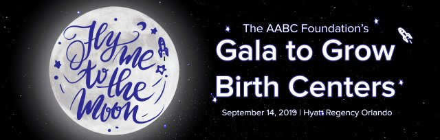 The 2019 Gala to Grow Birth Centers: Fly Me to the Moon
