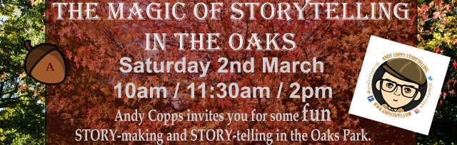 The Magic of Storytelling with Andy Copps - 11:30am