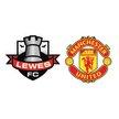 Lewes v Manchester United image