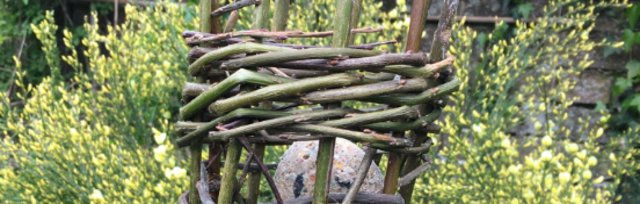 Willow Bird Feeder - Birtley Woodland Art's Space