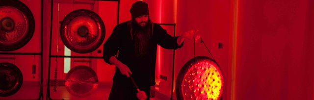 9.00pm Gong Bath at Transcend Therapies, Monton