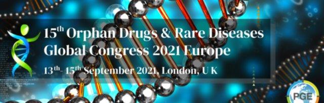 15th Orphan Drugs & Rare Diseases Global Congress 2021 Europe - London, UK