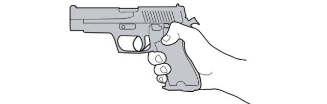 Pistolen Schiesstraining Erlinsbach