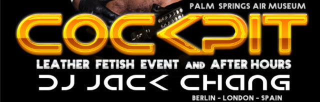 Buy tickets for COCKPIT with Dj Jack Chang LEATHER FETISH RAVE and