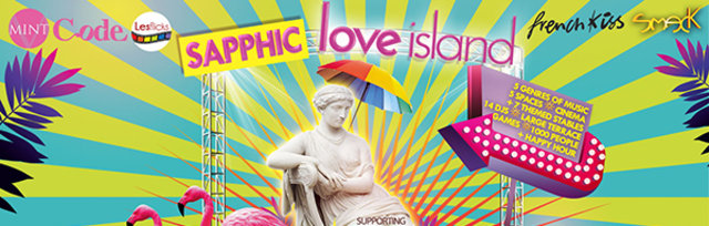 Sapphic Love Island -  super-sized London Pride After-Party