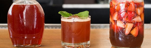 Spring Shrubs: Cocktails & Non-Alcoholic Cocktails
