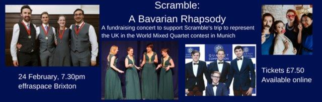 Scramble: A Bavarian Rhapsody