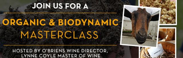 Organic & Biodynamic Masterclass with Lynne Coyle MW